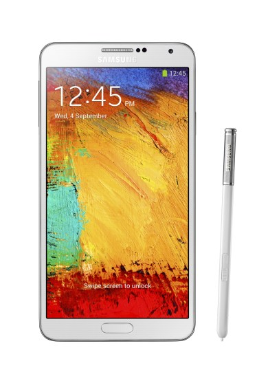 Samsung Galaxy Note 3 White with S Pen